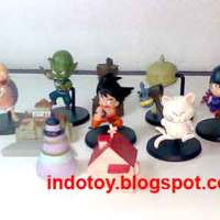 Jual DragonBall Chibi with Castle isi 10 figure