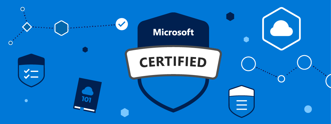 Microsoft courses and certifications