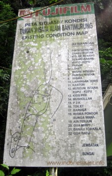 Bantimurung map