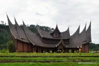 Istano Basa Pagaruyung, Nagari Pagaruyung, Kecamatan Tanjung Emas, Batusangkar, Kabupaten Tanah Datar