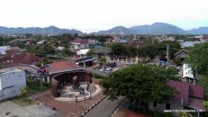 Museum PLTD Apung front yard