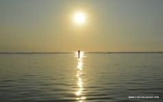 sunset at Sunset Beach, Gili Trawangan