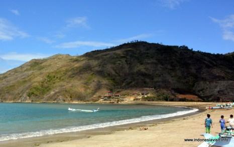 Kuta beach, southern lombok