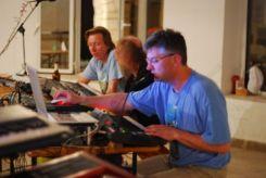 8. Sound check - the Polish guys (Yarek, Wladek & Daniel)