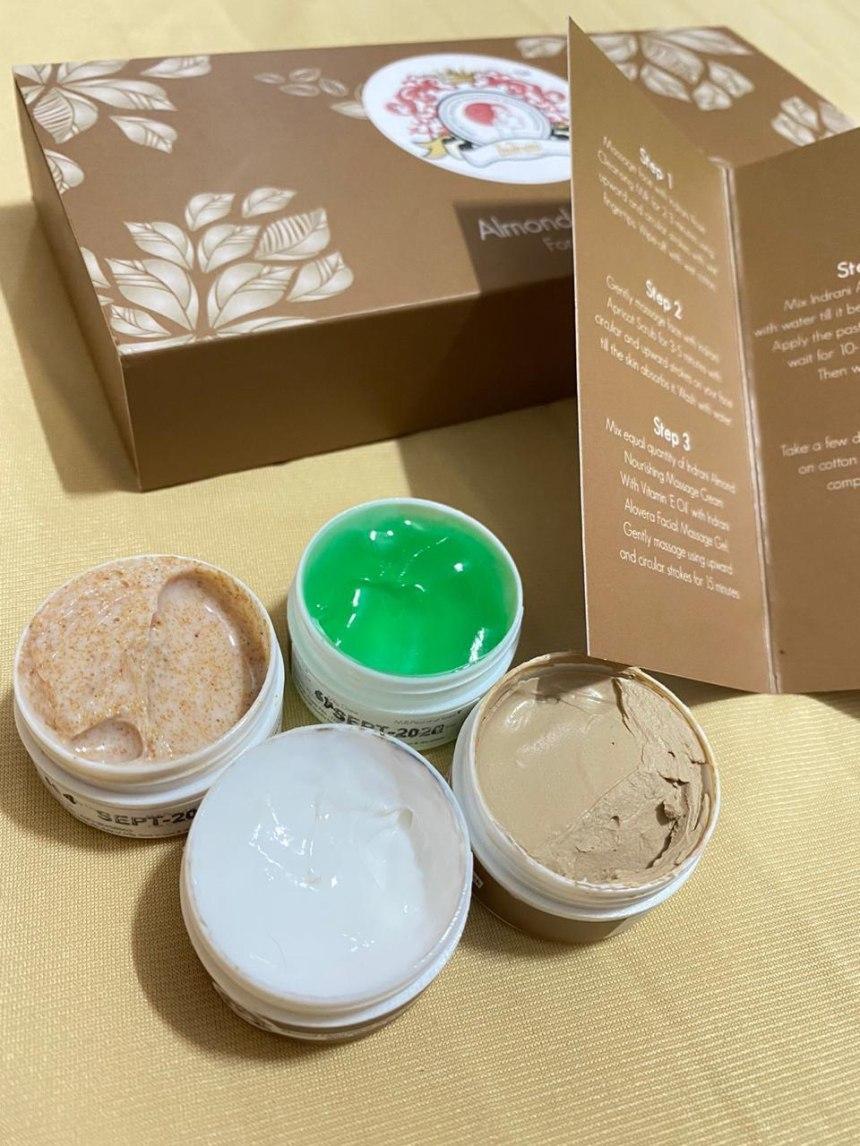 Almond Facial Kit Review