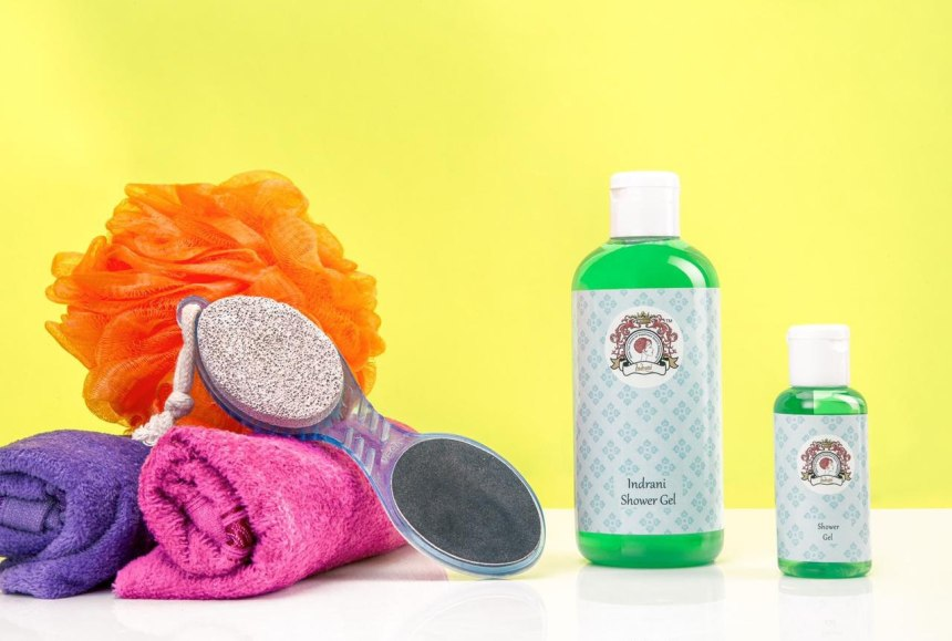 Recharge yourself with a refreshing bath this summer with Indrani Cosmetics Shower Gel