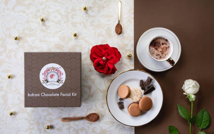 Indrani Cosmetics Chocolate Facial Kit