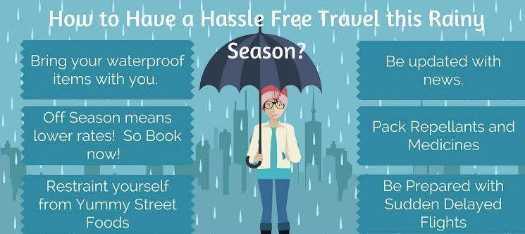 Tips For Travelling In The Rainy Season
