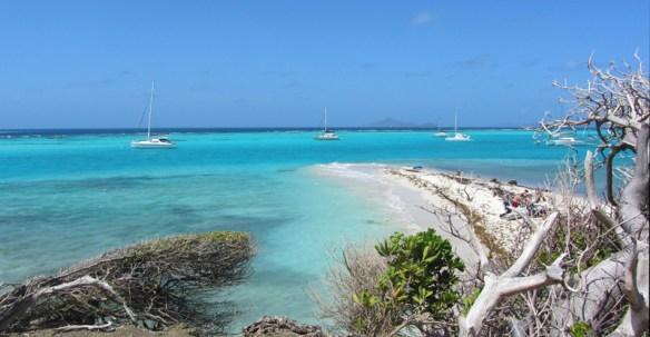 Widok z wyspy Baradal na południe