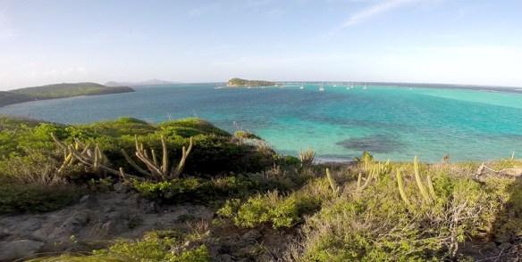 Widok na wyspę Baradal z Jamesby