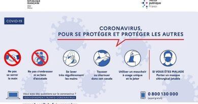 Point de Situation Protocole COVID-19 du 16 Octobre 2020