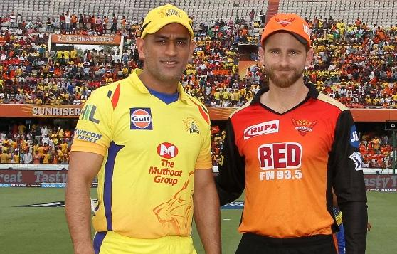 Sunrisers Hyderabad vs Chennai Super Kings