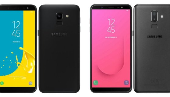 Samsung Galaxy J6 and J8