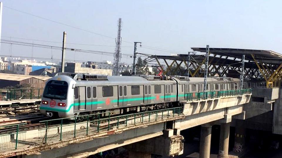 Delhi Metro Green LIne