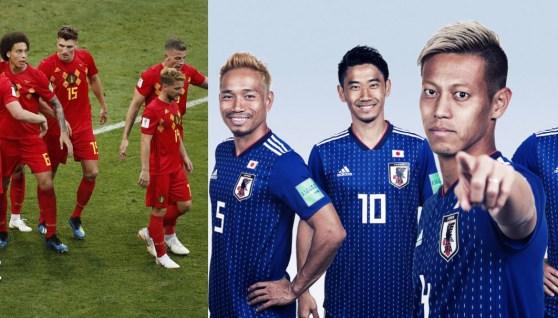 Belgium vs Japan