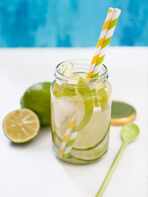 Citron vert pomme verte