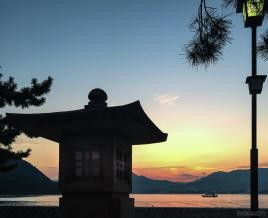 Around Japan - Miyajima Sunset by Matias Masucci
