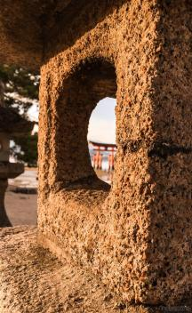 Around Japan - Miyajima Torii Gate 2 by Matias Masucci