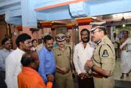 Bandobust arrangements for Hanuman Jayanti in city reviewed