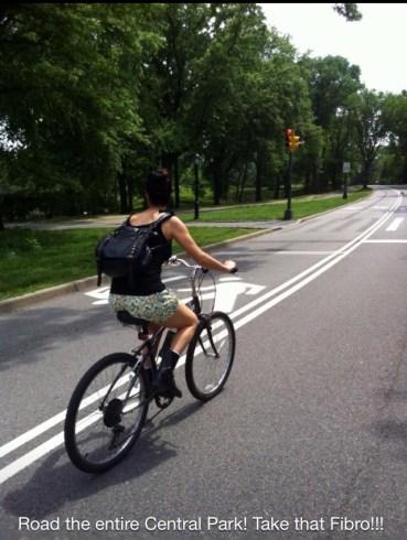 Being honest- Central Park 1
