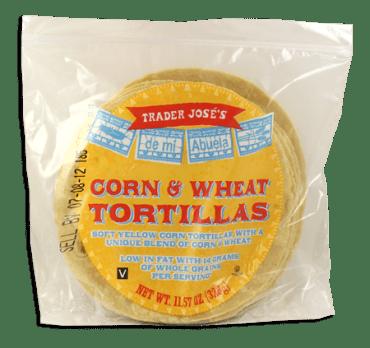 Tjs corn tortillas