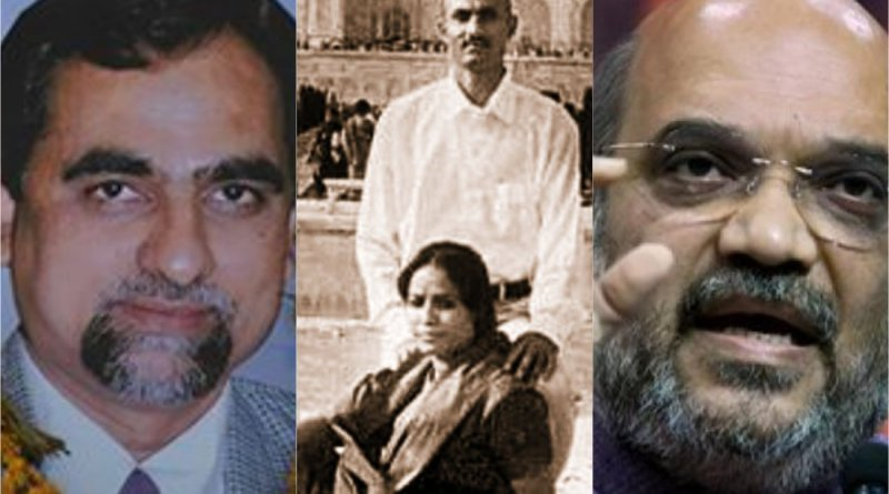 Late Judge Loya; Sohrabuddin Sheikh and wife Kausar Bi; Amit Shah