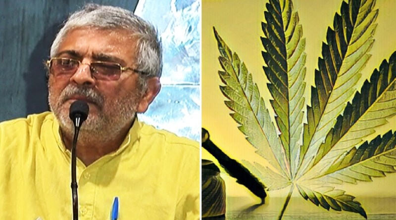 medical marijuana legalization parliament winter session december, India