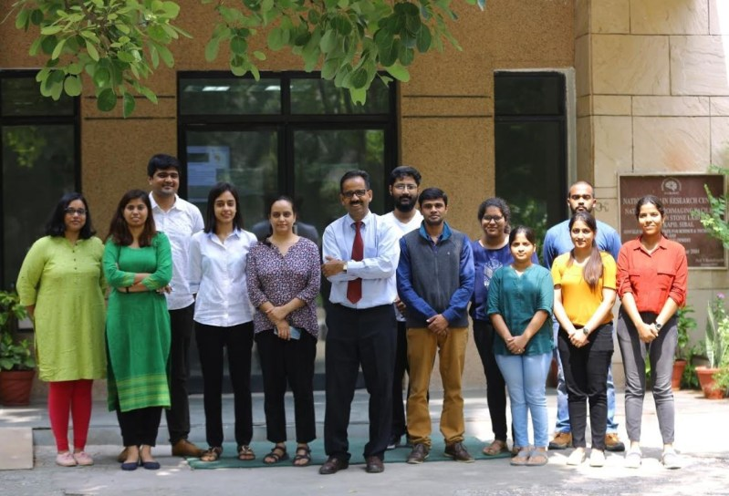 Dr Pravat Mandal and the team of researchers at NBRC, Manesar