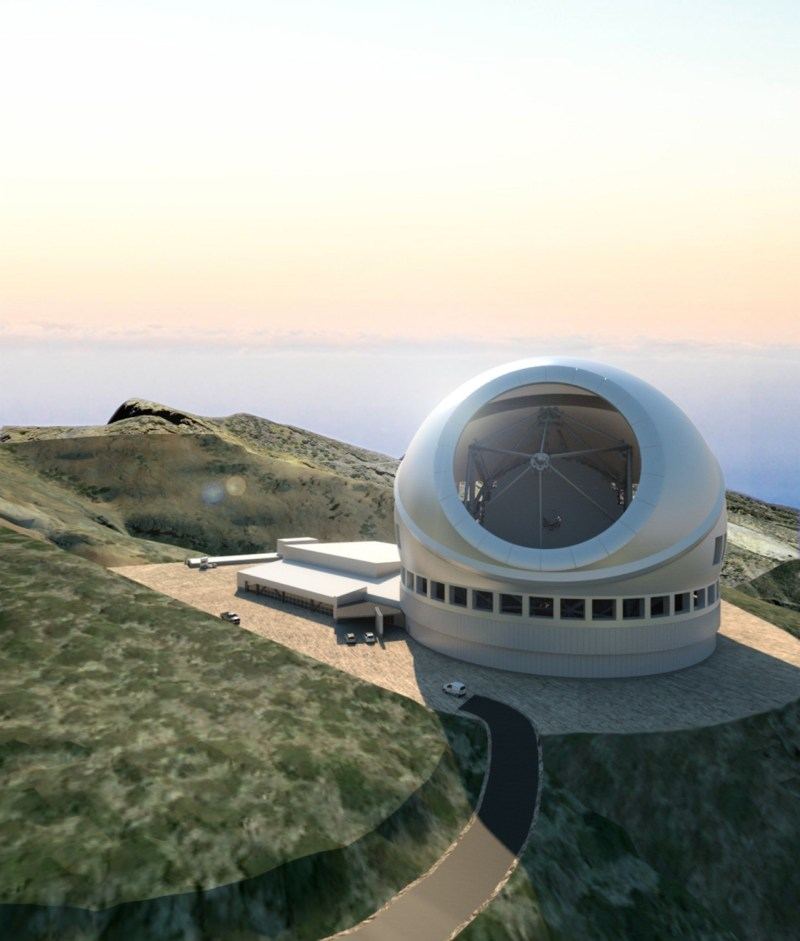 Thirty Meter Telescope, La Palma (Spain)