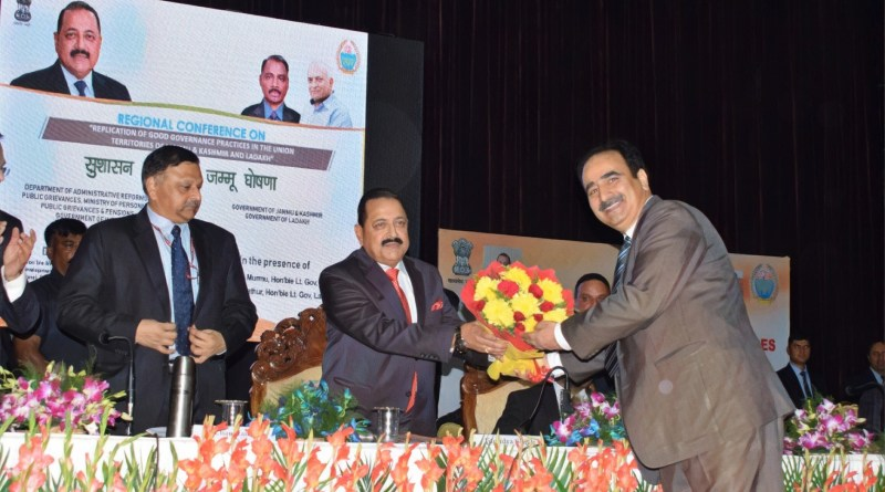 Conference on Good Governance Governance resolves to develop J&K, Ladakh as models of excellence