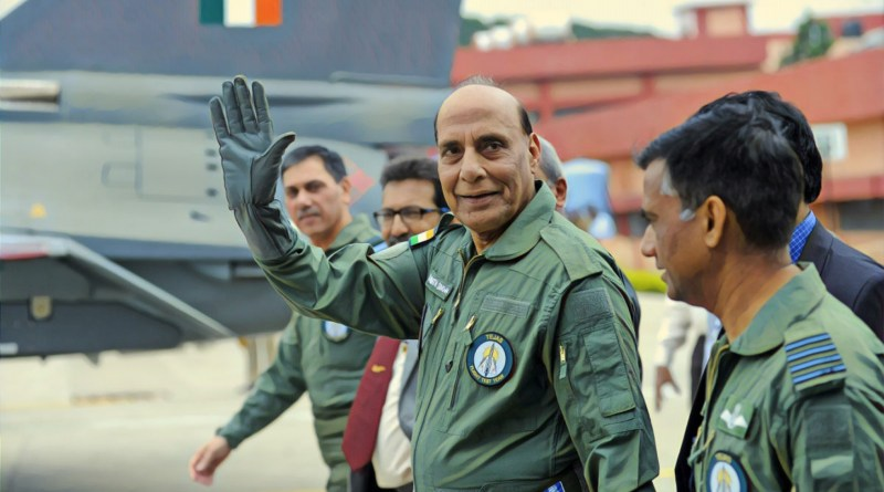Def Min Rajnath urges DRDO & Defence industry to cooperate, sets $26B target by 2025