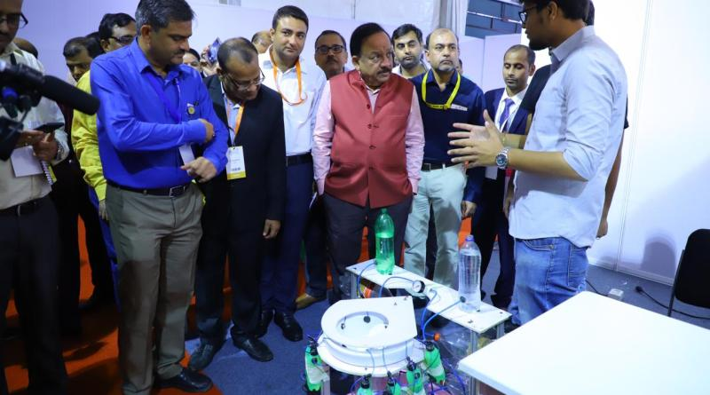 Engineering models competition opened at India International Science Festival | Indus Dictum