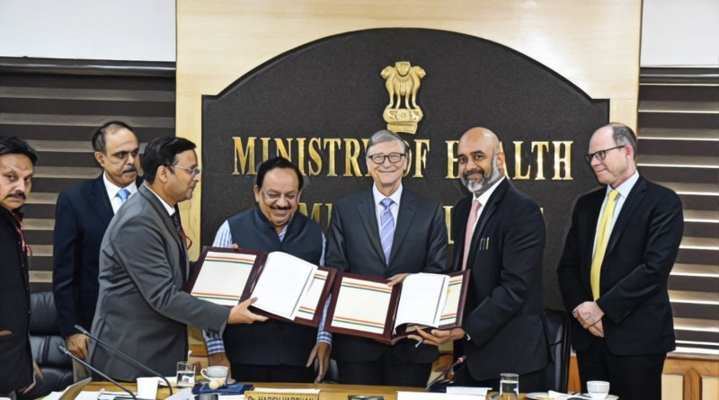Health Minister signs MoC with Bill Gates' Foundation for improved healthcare