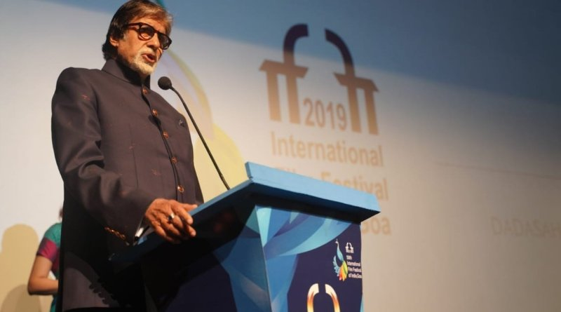 IFFI 2019: Bachchan says cinema should bring us together, take steps to make world a peaceful place