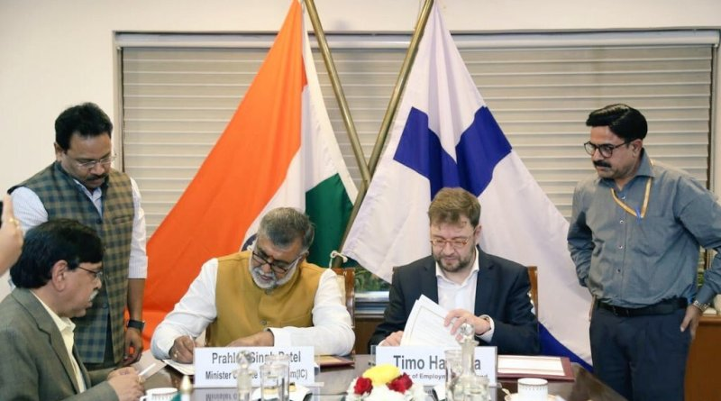 India & Finland sign MoU for strengthening tourism co-op
