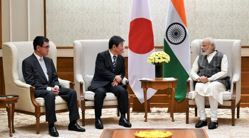 India, Japan foreign & defence ministerial dialogue held today, PM Modi, Rajnath, Jaishankar present