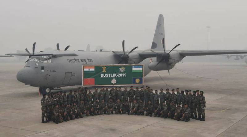 First Indo-Uzbekistan joint military exercise Dustlik-2019 concludes