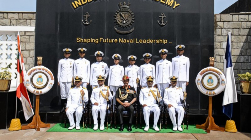 Kovind to award highest military honour 'President's Colour' to INA (Indian Naval Academy)