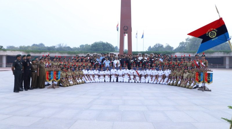 NCC celebrates 71st Raising Day, Def Sec & Indian Army Lt Gen pay homage to martyrs