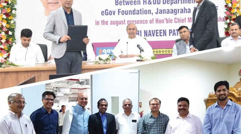 Odisha Govt signs MoU with Nilekani's eGov Foundation for digital Municipal services