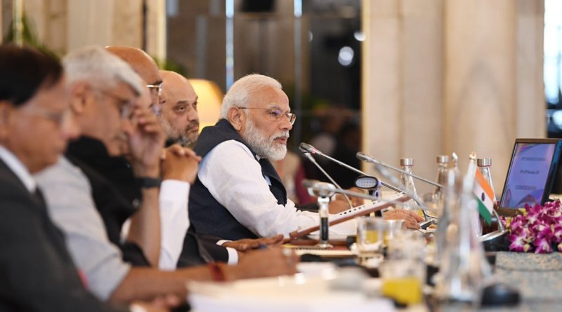 PM at Governors Conference: Focus on agri, education, water conservation, tribal welfare