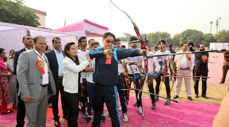 Sports Min Rijiju at Fitness Week: Start technical evaluation, school report cards under 'Fit India'
