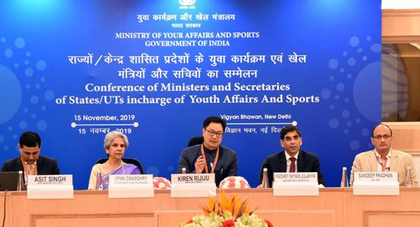 Sports Minister Rijiju calls for joint efforts in promoting Fit India Movement