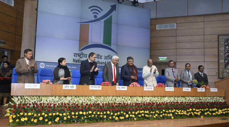 All Indian villages to be covered by 2022 under National Broadband Mission | Indus Dictum