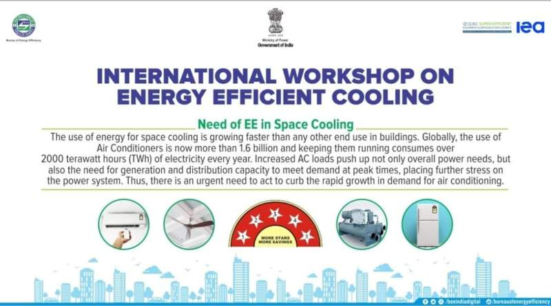 Bureau of Energy Efficiency hosts international workshop on cooling systems