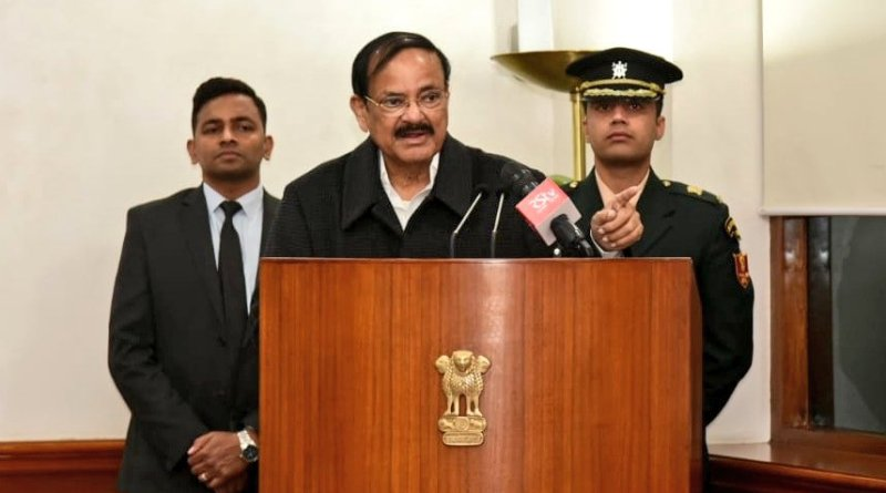 CAA doesn't affect citizenship of Indians of any religion: VP Naidu
