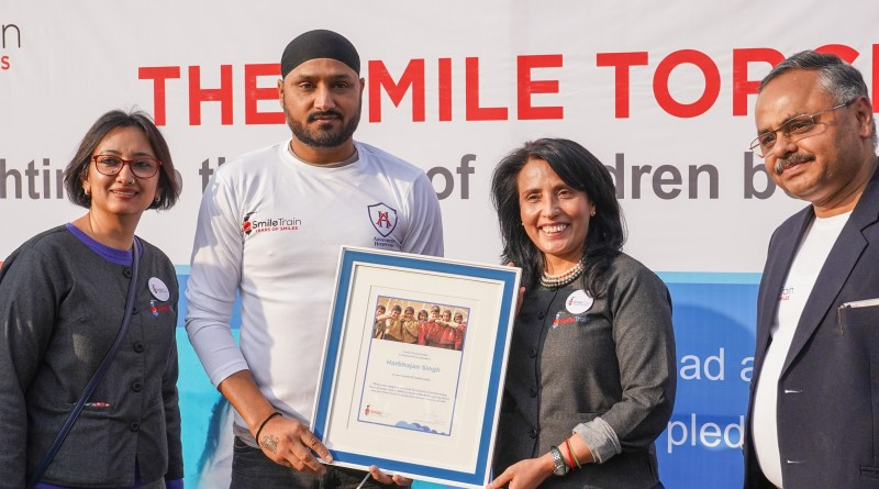 Harbhajan joins Smile Train charity as Goodwill Ambassador, bats for kids with clefts