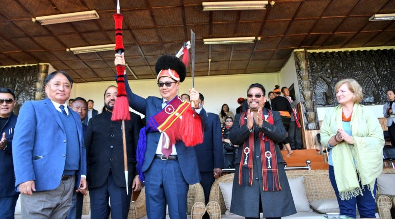 Hornbill Festival a symbol of North East India: MoS Minority Affairs Kiren Rijiju