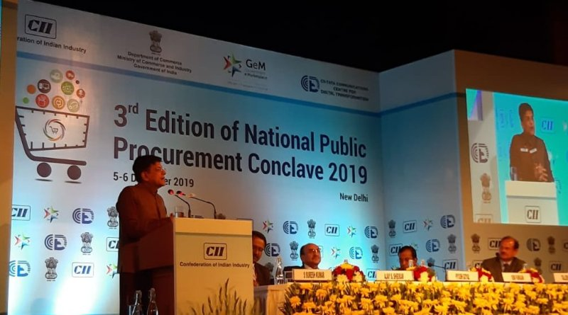 Piyush Goyal inaugurates Public Procurement Conclave, says GeM to be open for all in future