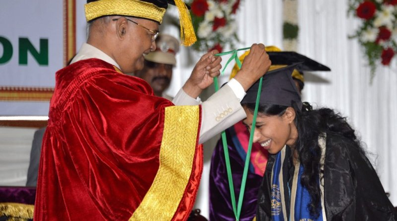 President Kovind addresses Pondy Univ convocation: All have responsibility towards society